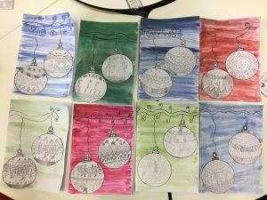 Year 4 Lennon Mccartney Christmas Cards