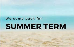 summer term 2